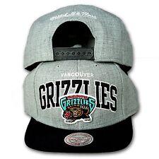 Original Mitchell & Ness Vancouver Grizzlies Snapback Cap NBA grau/schwarz EU183