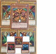 All-Legal 8-CARD-SET EXODIA-EGYPTIAN-GOD-OBELISK-Ultra-SLIFER-RA- LDK2 YUGIOH