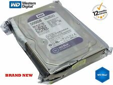 "Western Digital 500GB Hard Drive CCTV Desktop DVR SATA 3.5 "" 7200rpm WD5000AAKX"