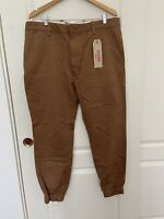 Levi's Chino Jogger Pants Men's Brown Size 38 X 32 MSRP $68.00