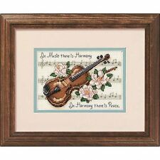 Dimensions - Mini Counted Cross Stitch Kit - Music is Harmony - D16656
