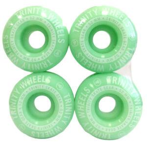 Trinity 52mm Skateboard Wheels - Mint Green (Set of 4)
