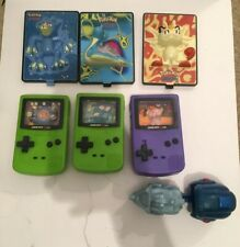 Mixed Lot Of 7x Vintage Pokemon Burger King Toys Nintendo Gameboy 2000 Meowth