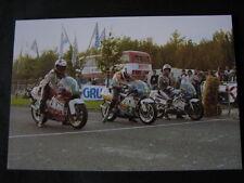 Photo Start 250cc ONK wegrace Heerlen 1987 #2 Schouten #3 vd Wal #4 Stamsnijder