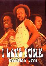 I LOVE FUNK VOLUME TWO 30 Music Videos DVD Funk Disco Pop Oldies 70's 80's Video