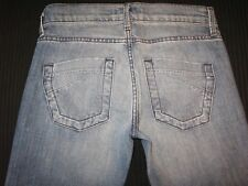 James Jeans Cured by Seun Womens Leroy Low Rise Flare Sz 26 Fit Like 27 / 28