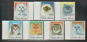 GUINEA BISSAU 1985 CAT PET STAMPS CATS  STAMP EXH ARGENTINA '85 MNH - KCAT96