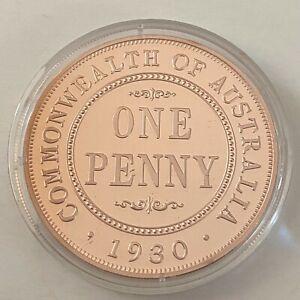 Australia Coinage 1930 Penny  Macquarie Mint (3402206/A5)