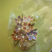 Jewelry (1.5 inches) Flower Design Brooch Costume