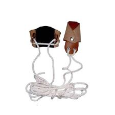Carol Archery Traditional Leather Bow Stringer Aa410A Brown