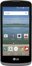 Verizon Prepaid - LG Optimus Zone 3 4G LTE - Black + Samsung 32 GB micro SD card