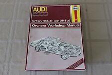 Haynes Automotive Repair Manual Audi 5000 1977-1983 131 cu in 428 Workshop Guide