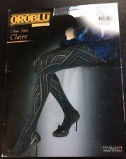 OROBLU Trend Collant / Tights Claire Strumpfhose S *neu* 🖤🐀