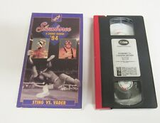 WCW WWF WWE Slamboree '94 Sting vs Vader Wrestling VHS Video Tape