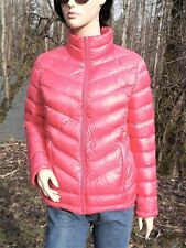 8-10 PINK DOWN JACKET 90% DOWN PUFFER LIGHTWEIGHT WARM SLEEVES DOWN FILLED TOO