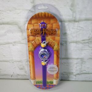 VINTAGE 2001 HARRY POTTER DIGITAL WATCH DATE AND TIME NEW SEALED BNIB