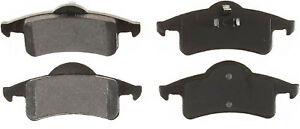 Rear Semi Metallic Brake Pads 1999-2004 Jeep Grand Cherokee