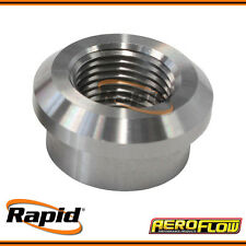 """Weld-On Stainless Steel Female NPT Fitting 1/8"""" NPT Aeroflow AF998-02SS"""