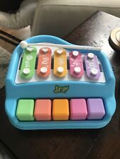 5 Keys Mini Piano Toy Xylophone for Toddlers Baby colors numbers
