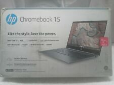 "New listing Hp Chromebook 15.6"" Fhd Touchscreen Intel i3-8130U 128Gb 4Gb 15-de0518wm"