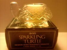 Vintage 1978 Avon Sparkling Turtle Candle-Meadow Morn-New In Box-Free Shipping