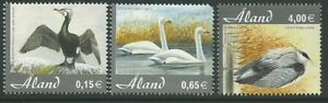 Aland 2005 - Fauna Animals Birds Cygnus Ardea Cinerea - Sc 230/2 MNH