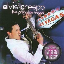 Crespo, Elvis : Live From Las Vegas CD