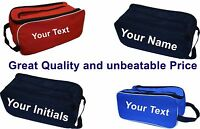 Personalised Shoe bag Boot Bag Football Rugby Bowling Sports - Custom Printed
