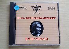 ELISABETH SCHWARZKOPF - BACH / MOZART - CD COME NUOVO (MINT)
