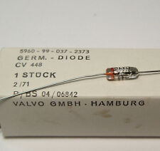 10x CV448 / CV 448 militärische Germanium Glas-Diode, 70er Jahre, NOS