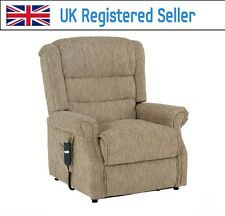 Willis & Gambier Full Flat Rise & Recline Electric Chair 804 beige cream Mocca