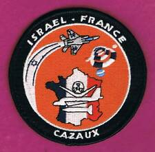 French & Israel Air Force Cooperation Israeli Test Flights - Cazaux School Patch