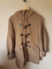 Ben Sherman en laine mélangée Vichy Duffle-coat-homme taille M-camel, beige, crème