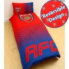 Ropa de cama de poliéster para niños de fútbol de color principal rojo