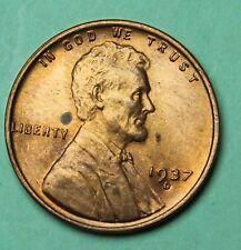 Very High Grade 1937-D Wheat Cent (BL14-43)