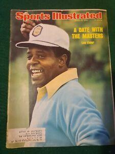 March 10, 1975 Lee Elder Golf Sports Illustrated