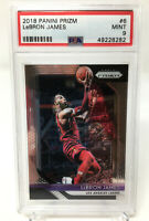2018 Panini Prizm #6 Lebron James PSA 9 MINT