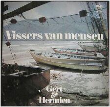 Gert en Hermien, Visser van universitarios, VG/vg, LP (6348)