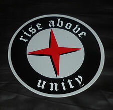 Vintage Rise Above punk Unity aggro aggressive inline skate stickers & decals