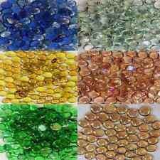 Round Glass Nuggets Pebbles Stones Beads Gems 2cm Button Bubble Wedding Decor