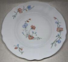 Lot79:6 Pequeñas Platos Planas Vintage Arcopal Francia. 19,5CM Decoración Flor