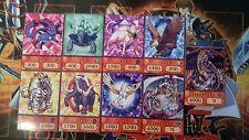 YuGiOh Orica/Anime Style 7xKristallungeheuer 1xRegenbogendrache