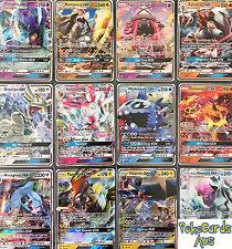 50 Pokemon Cards - Guaranteed 1 Ultra Rare GX + 7 Rares/Reverse Holos/Holos