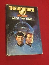 Star Trek The Wounded Sky by Diane Duane Hardback Book Club Edition 1983