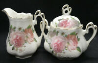 Creamer and Sugar Dish from Sunny Blue Collection Fine Porcelain