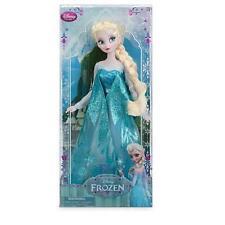 DISNEY STORE ELSA Classic Doll - Frozen - 12''