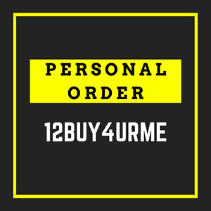 PERSONAL ORDER for 12buy4urme