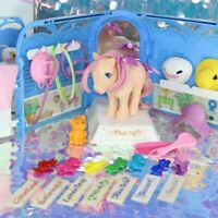 Vintage My Little Pony PRETTY PARLOR + PEACHY & TWINKLES the Cat Box G1 MLP L425