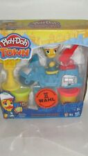 Hasbro B5975 Play Doh Town Knete und Polizeimotrrrad