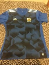 Authentic Adidas Argentina Camiseta Trikot Maglia Maillot Jersey Away XL